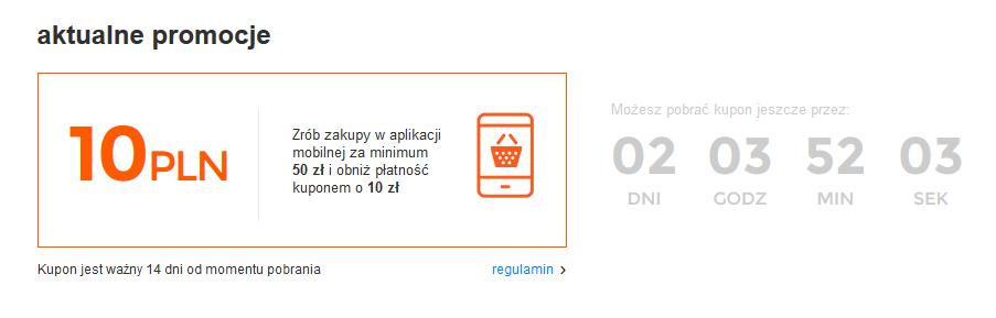 Kupuj taniej z aplikacj mobiln, allegro, jak wykorzysta kupon?